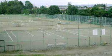 緑ヶ丘公園庭球場